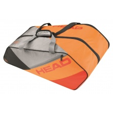 Head Racketbag Elite 9R Supercombi 2017 orange/grau