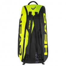 Head Racketbag Tour Team Extreme 9R Supercombi 2020 schwarz/neon gelb
