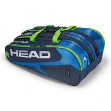 Head Racketbag Elite 12R Monstercombi 2018 blau