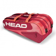 Head Racketbag Elite 9R Supercombi 2018 rot/pink