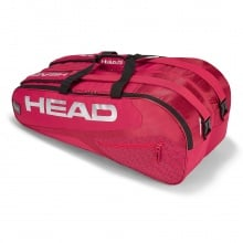 Head Racketbag Elite 9R Supercombi 2018 rot/rot