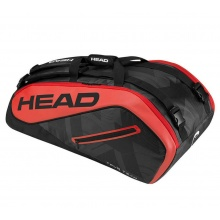 Head Racketbag Tour Team 9R Supercombi 2017 schwarz/rot