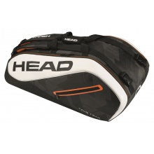 Head Racketbag Tour Team 9R Supercombi 2017 schwarz/weiss