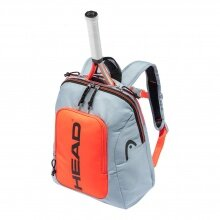 Head Rucksack Rebel Kids 2021 grau/orange