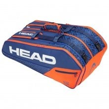 Head Racketbag Core 9R Supercombi blau/orange