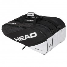Head Racketbag Elite 12R Monstercombi 2020 schwarz/weiss
