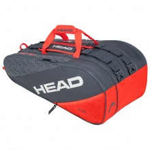 Head Racketbag Elite 12R Monstercombi 2020 grau/orange