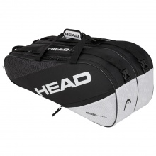Head Racketbag Elite 9R Supercombi 2020 schwarz/weiss