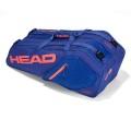 Head Racketbag Core 6R Combi 2018 blau