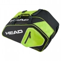Head Racketbag Padel Core Combi schwarz/grün