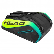 Head Racketbag Tour Team Extreme 12R Monstercombi 2017 schwarz