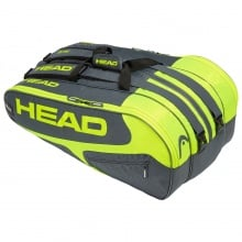 Head Racketbag Elite 12R Monstercombi 2019 grau/lime