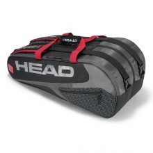 Head Racketbag Elite 9R Supercombi 2019 schwarz/rot