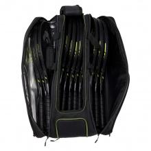 Head Racketbag (Schlägertasche) Extreme Nite 12R 2021 schwarz - 3 Hauptfächer