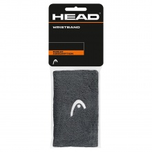 Head Schweissband Jumbo Logo anthrazit 2er