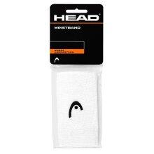 Head Schweissband Jumbo Logo weiss 2er