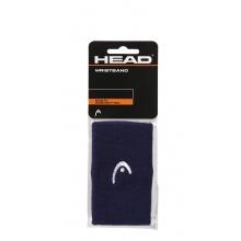 Head Schweissband Handgelenk Jumbo Logo navy - 2 Stück