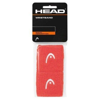 Head Schweissband Logo koralle 2016 2er