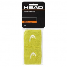 Head Schweissband Logo lime 2er
