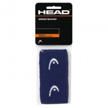 Head Schweissband Logo navy 2er