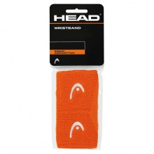 Head Schweissband Logo orange 2016 2er