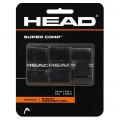 Head Super Comp Overgrip 3er schwarz