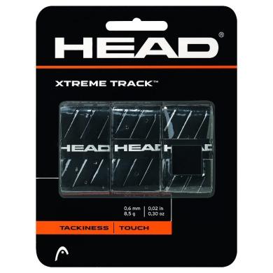 Head Xtreme Track 0.5mm Overgrip 3er schwarz
