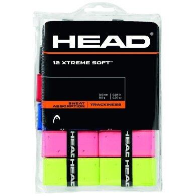 Head Overgrip Xtreme Soft 0.5mm sortiert im 12er Clip-Beutel
