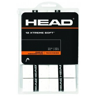 Head Xtreme Soft Overgrip 12er weiss
