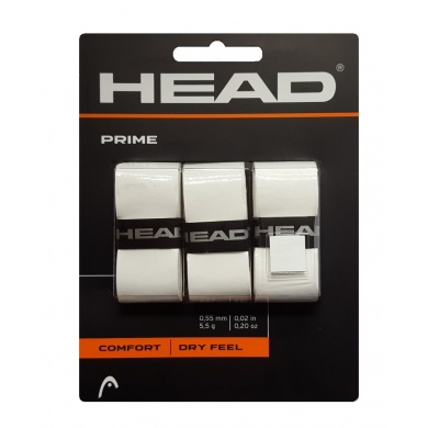 Head Prime Overgrip 3er weiss