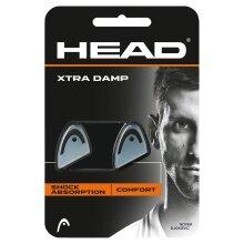 Head Schwingungsdämpfer Xtra Damp transparent/schwarz 2er