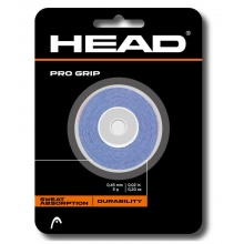 Head Pro Grip Overgrip 3er blau