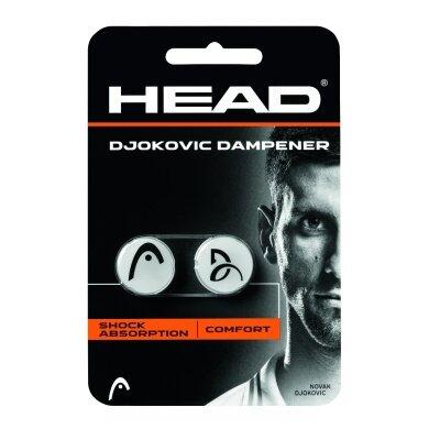 Head Schwingungsdämpfer Djokovic weiss 2er