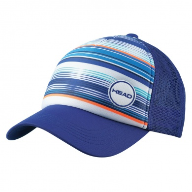 Head Cap Trucker blau