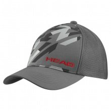 Head Cap Trucker grau