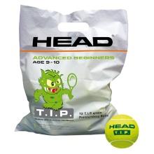 Head Stage 1 TIP (grüner Punkt) Methodikbälle gelb Polybag 72er