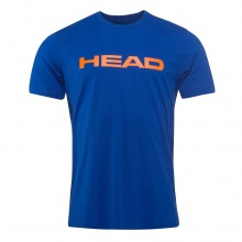 Head Tshirt Ivan 2018 royal/orange Herren