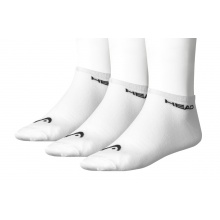 Head Tennissocken Sneaker Damen weiss 3er