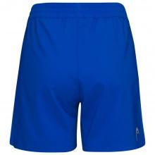 Head Tennishose Short Club 2021 kurz royalblau Damen
