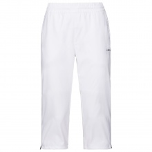 Head Tennishose 3/4 Pant Club 2021 weiss Damen