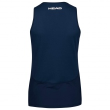 Head Tennis-Tank Top Performance dunkelblau Damen
