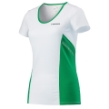 Head Shirt Club Technical 2017 weiss/grün Damen