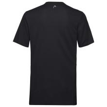 Head Tshirt Club Technical schwarz Boys
