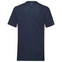Head Tshirt Club Technical 2021 dunkelblau Boys