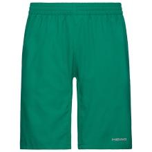 Head Tennishose Bermuda Club kurz grün Jungen