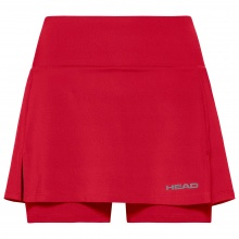 Head Tennisrock mit Innenhose Club Basic 2021 rot Girls