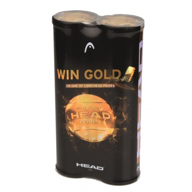 Head ATP GOLDEN BALL 2016 Tennisbälle 2 X 4er