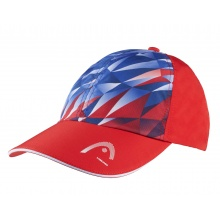 Head Cap Tennis Light Function rot