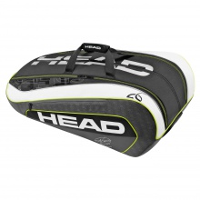 Head Djokovic 12R Monstercombi 2016 grau/weiss/lime