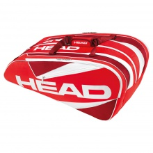 Head Elite 12R Monstercombibag 2016 rot/weiss